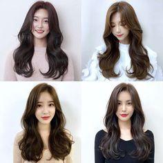 Korean Haircut Long, Korean Bangs Hairstyle, Hairstyles With Bangs, Hair Inspo, Hair Inspiration, Hair Tips Video, Long Hair Cuts, Long Hair Styles, Almond Eye Makeup