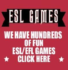 EFL ESL Teaching Activities, Lessons, Games, Worksheets