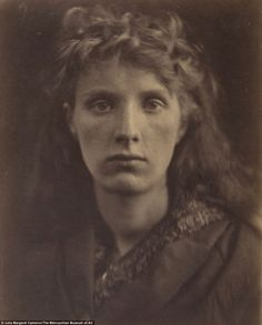 The Mountain Nymph Sweet Liberty June 1866: Julia Margaret Cameron was one of the greatest portraitists in the history of photography