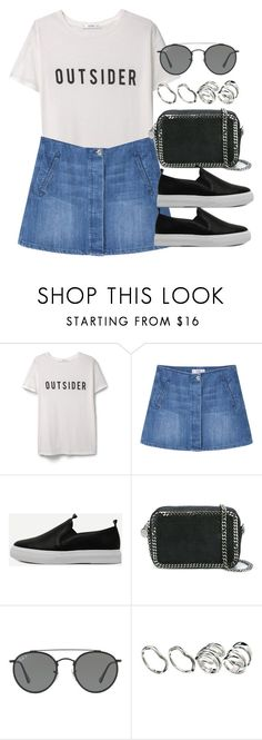 """Sin título #12497"" by vany-alvarado ❤ liked on Polyvore featuring MANGO, STELLA McCARTNEY, Ray-Ban and ASOS"