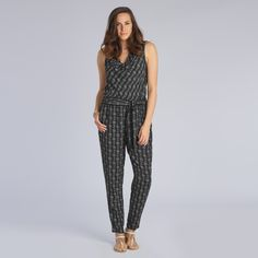 Cowl Neck Jumpsuit a