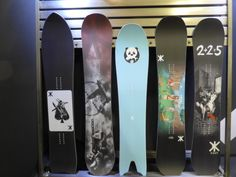 2016 Surf Oriented Snowboard Shapes - Mountain Weekly