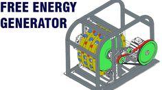 Free Energy Generator - Mike Brady Permanent magnet machine