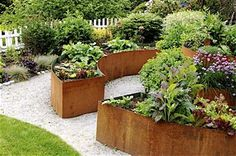 corten round garden beds - photo #19