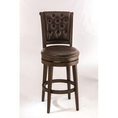 Hillsdale Furniture Chiswick 31'' Swivel Bar Stool with Cushion