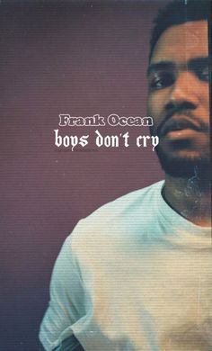 Frank Ocean Hip Hop And R&b, Love N Hip Hop, Boys Don't Cry, Odd Future, Frank Ocean, The Brethren, Tumblr Photography, Handsome Man, Mixtape