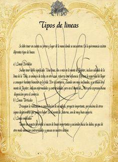Trastos de Bruja: Tipos de lineas Magick Book, Magick Spells, Wiccan, Witchcraft, Latin Spells, Tarot, Magic Symbols, Witch Spell, Spiritual Messages
