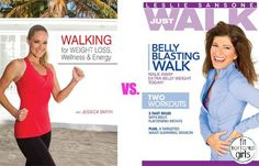 Two walking workout DVDs go head-to-head! We've got the fit bottomed line ... | Fit Bottomed Girls