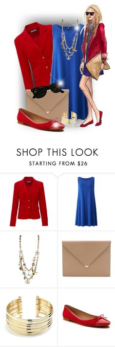 """*******"" by elona-makavelli ❤ liked on Polyvore featuring Uniqlo, Oscar de la Renta, Alexander Wang, Belk Silverworks, Shoes of Prey and Ray-Ban"