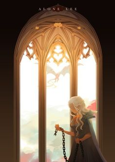 'Breaker of Chains' ('Valar Morghulis: Six Game of Thrones Illustrations') by Lee Alone Casa Targaryen, Daenerys Targaryen, Khaleesi, Got Dragons, Mother Of Dragons, Valar Morghulis, Game Of Thorns, Game Of Thrones Illustrations, Game Of Thrones Instagram