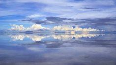 玻利維亞的天空之鏡