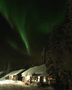 What a moment #aurora #northernlights nur kurz aber dafür umso intensiver! Ein wunderschönes Erlebnis  #finland #winter #snow #lapland