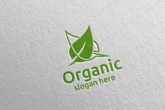 Natural and Organic Logo design 41 by denayunebgt on Organic Logo, Professional Logo Design, Logo Design Template, Design Bundles, Slogan, Packaging Design, Presentation, Photoshop, Templates
