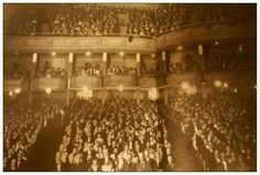Lincoln Theater. Opening night October 27, 1916. Sold out 1371 people   Decatur Illinois