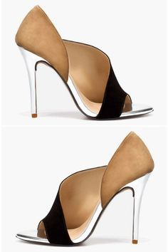 Sexy cutout heels
