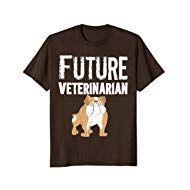 Future Veterinarian Bull Dog T-shirt National Pet Day, Bull Dog, Future, Pets, Mens Tops, T Shirt, Shopping, Supreme T Shirt, Future Tense