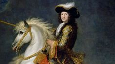 Louis XIV on a unicorn