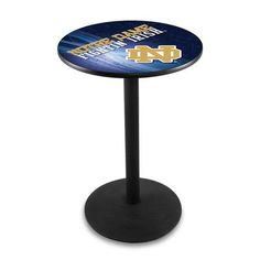 "Holland Bar Stool Pub Table Tabletop Size: 36"" H x 36"" W x 36"" D, NCAA Team:"