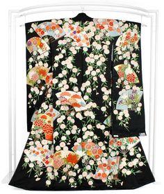Silk Kimono Furisode