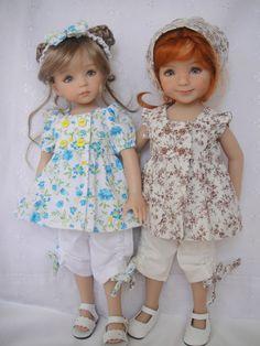 Nouvel échange avec Claire - Du fil et des poupées