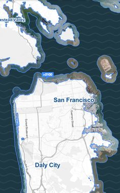 San Francisco and Marin under 10 feet of water http://sta.mn/z5j #climatecentral #surgingseas