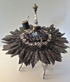 Proddy & Silver Flower Pincushion