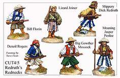 Pirates And Swashbucklers  - Redruths Rednecks - CUT045