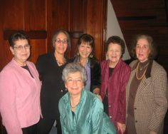 Board member Cecile Snow, Founder and Executive Director Eve Schatz, Susan Solovay who does the Clinic's marketing, Board members Dr. Marcia Savage, Phyllis Weiss and Diana Felber (in front).
