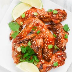 These Sweet and Sour Hot Wings are perfect for your upcoming Super Bowl party!