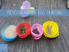 Reverse Easter Egg Hunting