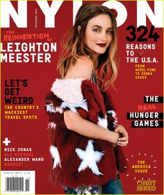 Leighton Meester Tells the Story of How She & Adam Brody Booked 'Life Partners' to 'Nylon'