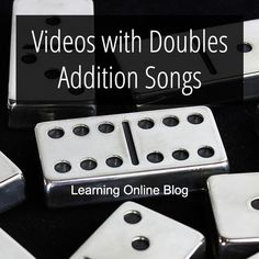 Videos with Doubles Addition Songs Doubles Song, Doubles Addition, Mental Maths Worksheets, Learn Math, Online Blog, Math Facts, Addition And Subtraction, Pathways, Songs