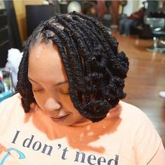 Pipe cleaner curls by Pstyles!! This is a 3 in 1 style. Your curls will last forever. #loccolor #locs #loccurls #locology #womenwithlocstyles #naturaltexturessalon #pstyles #twist #teamlocs #teamnatural #dmvlocs #dmvbarber #dmvstylist #dmvloctician #masterloctitician #maryland #styleseat #bookme #blessed #curls #colorist #womenwithlocs