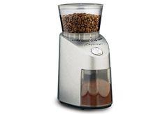 Capresso 565.05 Infinity Conical Burr Grinder http://consumercoffeegear.com/capresso-565-05-infinity-conical-burr-grinder/#