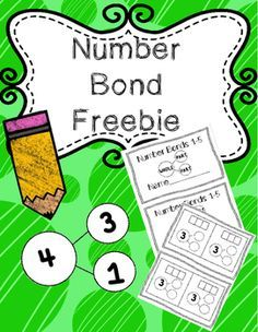Easy to make booklets to practice number bonds 1-5. Students will show 2…
