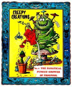 Creepy Creations No.04 - The Fanatical Fungus Grower Of Frogpool