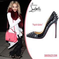 998b5c13aa2d Rita Ora in Christian Louboutin Celebrity Shoes