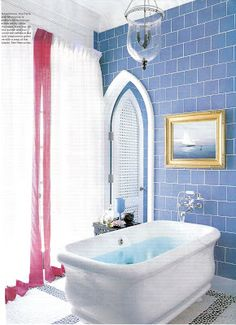 1000 images about pink and blue bathrooms on pinterest for Pink and blue bathroom ideas