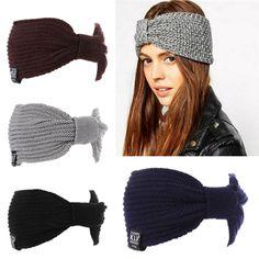 >> Click to Buy << Winter Headbands Womens Ear Warmer Crochet Turban Knit Wool Head Wrap Hairband Headband Headwear Female Hair Band Accessories 25 #Affiliate