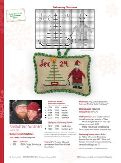 Gallery.ru / Фото #12 - Just Cross Stitch-Vol.34,N°6-Special Holiday Issue-Christmas - tymannost