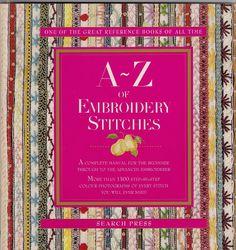 Bordados e A-Z of Embroidery Stitches - loluki loluki - Álbuns da web do Picasa