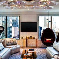Living Room, W New York Times Square vossy.com