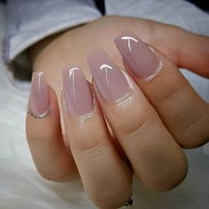 Why do acrylic nails always look way better then natural nails? There is just something about acrylic nails that are simply fabulous and we have found a bunch of awesome acrylic nail designs. Best Acrylic Nails, Acrylic Nail Designs, Light Pink Acrylic Nails, Soft Pink Nails, Light Nails, Acrylic Art, Bridal Nails, Wedding Nails, Glitter Wedding