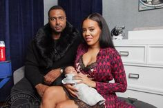 Photos: Angela Simmons introduces her son, Sutton Joseph - http://www.thelivefeeds.com/photos-angela-simmons-introduces-her-son-sutton-joseph/