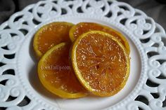 karamelomenes fetes portokaliou Grapefruit, Desserts, Food, Tailgate Desserts, Deserts, Essen, Dessert, Yemek, Food Deserts