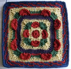 Ravelry: kcatchin's Beware the Ides of March Square