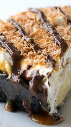 Samoa Coconut Cream Pie
