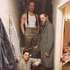 """161 Likes, 3 Comments - #1 Anastasia Musical Fan Page (@anastasiabroadway) on Instagram: """"The men of Anastasia in the man cave hallway  . . #Anastasia #anastasiabroadway #anastasiamusical…"""""""