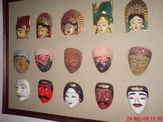 Famous for masks