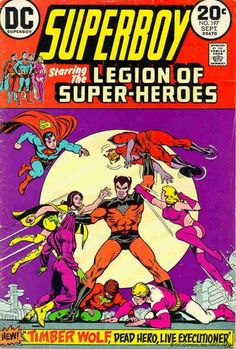 The Legion of Super-Heroes get a battering from Timber Wolf.